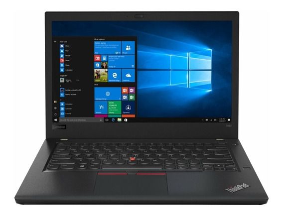 Notebook Profissional Lenovo I7 8gb 256 Ssd Tela 14 Ips Fhd