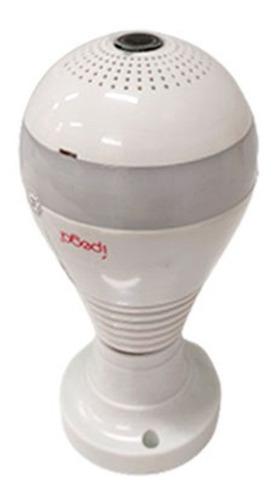 Imagem 1 de 7 de Lâmpada Com Câmera Espiã 360 Ip Ipega Wifi Hd Visão Noturna