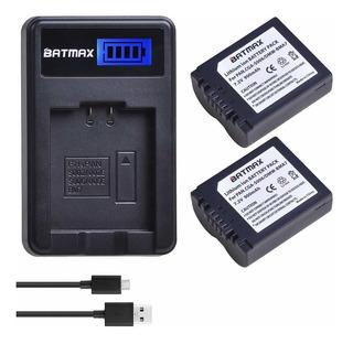 Batmax 2packs Cgr-s006, Cga-s006e, Dmw-bma7 Battereis +...