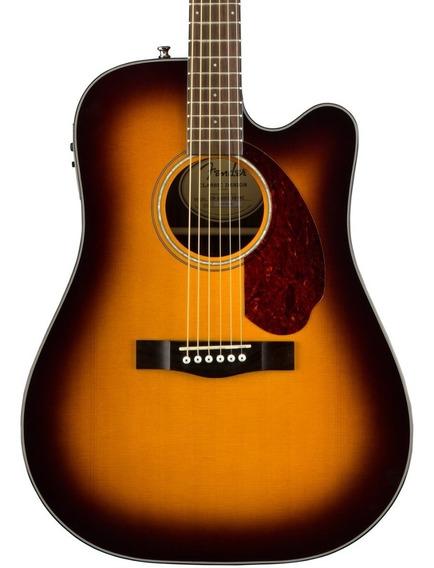 Guitarra Electroacústica Fender Cd-140sce Con Estuche Rígido