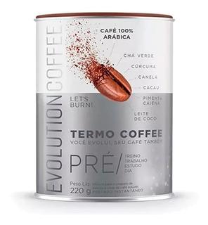 Evolution Termo Coffee 220 Gramas - Café Termogênico