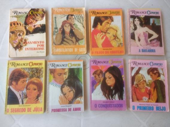 Romance Capricho - Livro De Bolso - Lote Com 8 Unidade