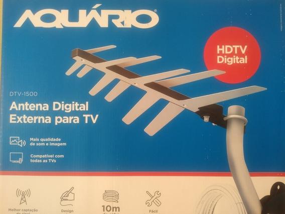Aquário - Antena Digital Externa Para Tv