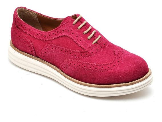 Sapato Oxford Feminino Flatform Lançamento De Inverno 300