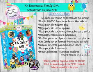 Kit Pack Empresarial Candy Bar - Único En El Mercado