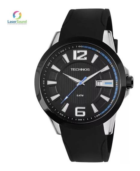 Relógio Technos Masculino 2115knw/8p, C/ Garantia E Nf