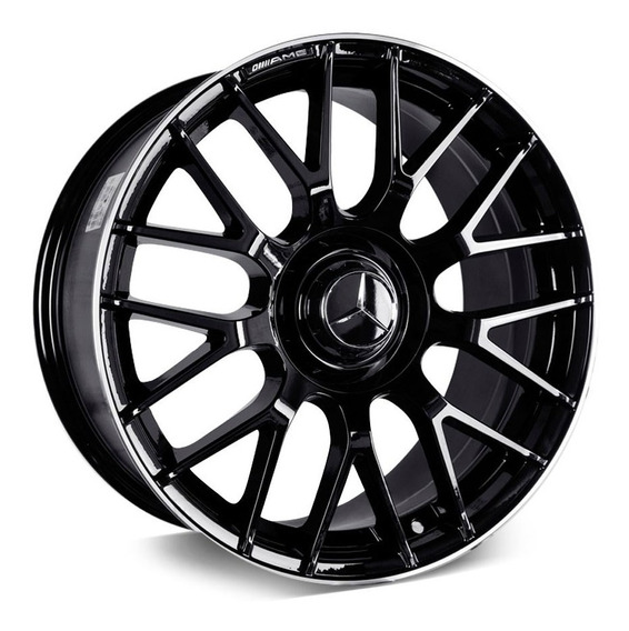 Jogo Roda Mercedes Benz C63 Amg Aro 19 X 8,5 Bbs