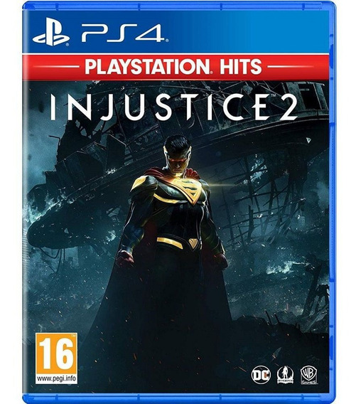 Injustice 2 Ps4 - Midia Fisica - Novo Lacrado Com Nf