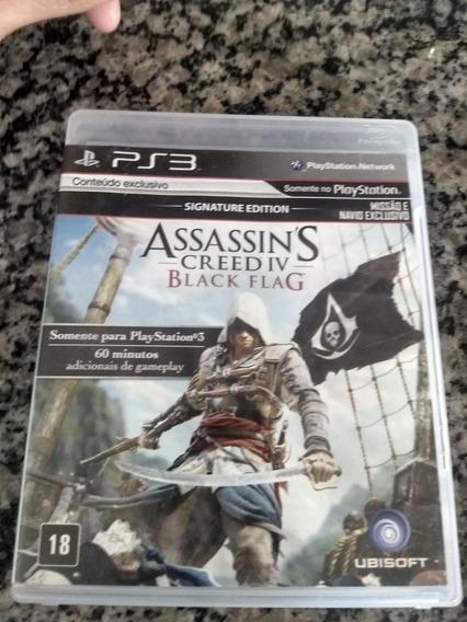 Assassins Creed Black Flag Em Português Ps3 Mídia Física.