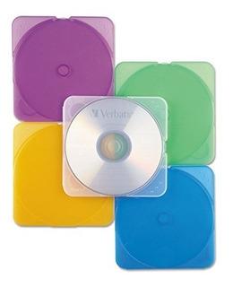 Verbatim Trimpak Estuches De Almacenamiento De Cd Y Dvd 5 Co