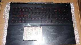 Palmrest + Teclado Red Gamer Inspiron 7567 P/n 0kn55/0mdc8k