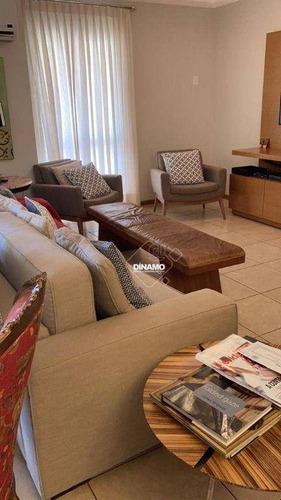 Imagem 1 de 8 de Apartamento À Venda, 166 M² - Jardim Santa Ângela - Ribeirão Preto/sp - Ap3711