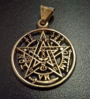 Tetragramaton De Chapa De Oro