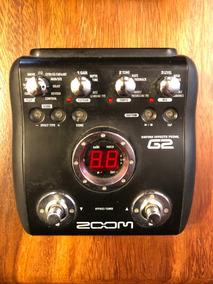 Pedalera Zoom G2 -solo Venta