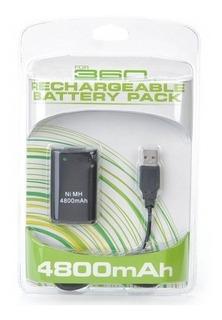 Bateria Recargable Para Xbox 360 // Mundo Otaku C.a