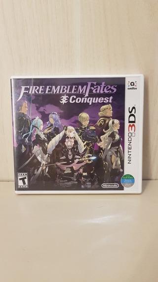 Fire Emblem Fates Conquest 3ds Novo Lacrado