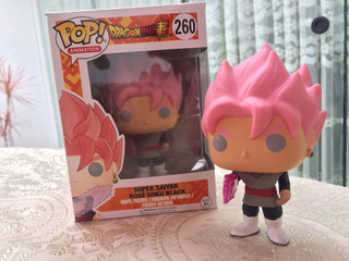 Pop Dragon Ball Super Super Saiyan Rose Black Goku #260