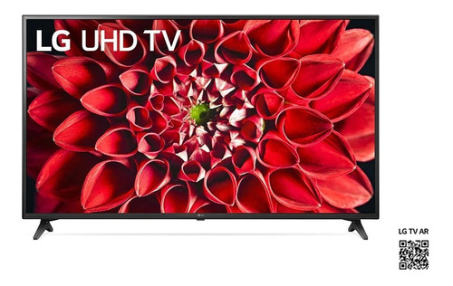 Imagen 1 de 4 de Televisor LG 55 Smart Tv 4k 55un7100  Negro