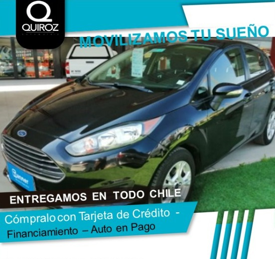 Ford Fiesta Se Hb 1.6 Full Mt Año 2014