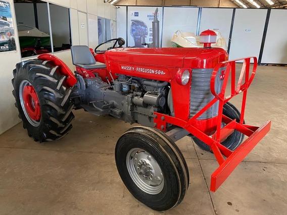 Trator Massey Ferguson 50x 1971 Raridade Impecável