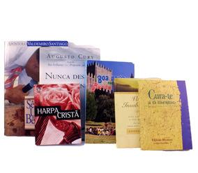 Lote 6 Livro Augusto Cury E João Nunes Espirita B5427
