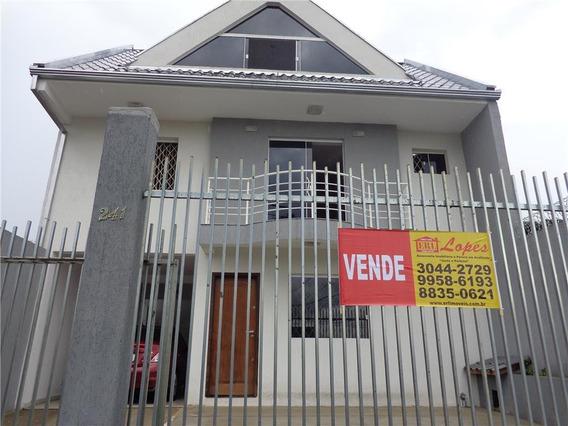 Sobrado Residencial À Venda, Tingui, Curitiba. - So0046