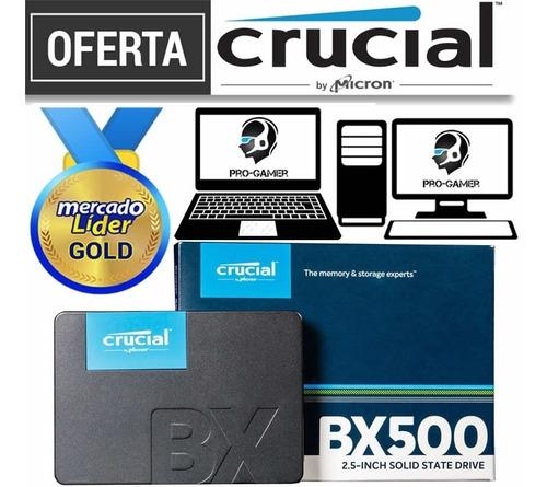 Disco Solido Ssd Crucial 1tb 2.5 Nuevos Inc Iva