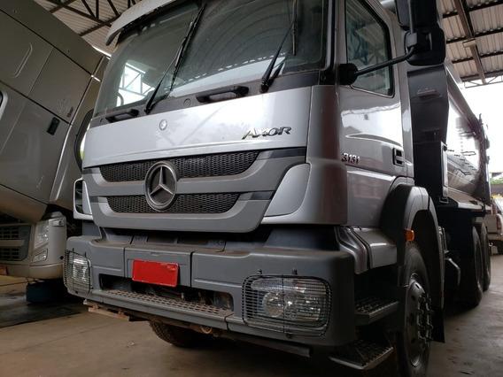 Mercedes-bens Axor 3131 6x4 Ano 2014 Caminhão Impecável