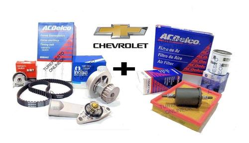 Kit Distribucion + Termostato + Kit Filtros Chevrolet Corsa 1.4 1.6 Classic