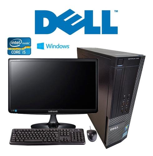 Cpu Dell Optiplex 990 Core I5 2ªg 4gb Ram Hd 500 + Monitor