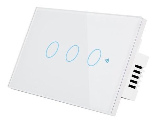 Interruptor Tactil Wifi Con Alexa Google Home (3 Botones)