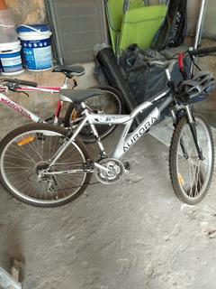 Bicicleta Aurora Rodado 26 Con Cambios Y Amortiguación