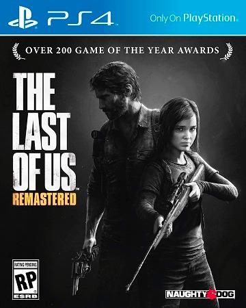 Jogo The Last Of Us Ps4 - Embalagem Cartão - Original