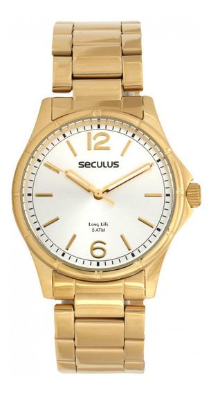 Kit Relógio Seculus 20463lpsvda1