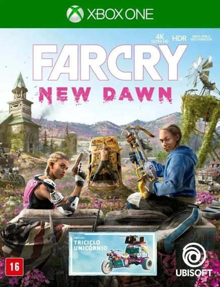Far Cry New Dawn Xbox One Xone Novo Lacrado + Nf