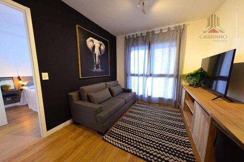 Vendo Apartamento Novo, Todo Mobiliado, Novo, Móveis E Eletrodomésticos Novos, No Fwd Do Central Parque Em Porto Alegre - Ap4083