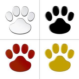 Patr/ón de huellas de perro Linda cubierta universal para volante Neopreno Accesorios automotrices para autom/óviles