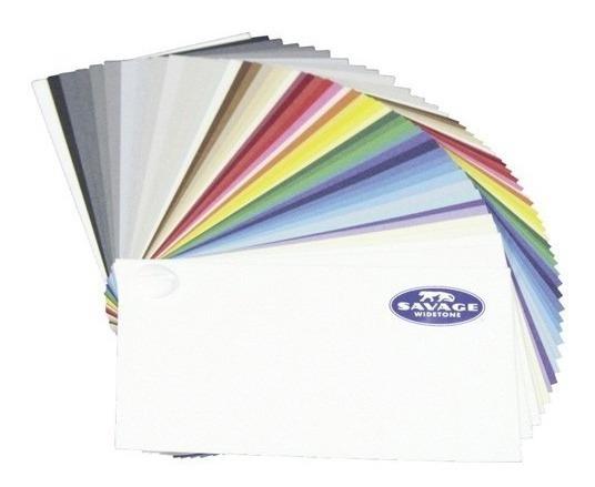 Catalogo De Colores Savage Universal