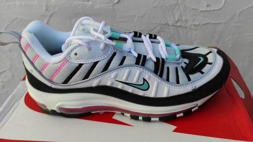 Perceptible abajo facultativo  Tenis Dama Nike Air Max 98 Mujer #5 Nunca Pisados Originales   Mercado Libre