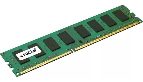 Memoria Ram Pc 8gb Crucial Ddr3 1600mhz Blister Original