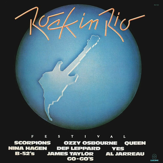 Cd Rock In Rio - 1985