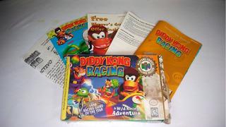 Diddy Kong Racer - N64 - Original Con Caja Y Manuales
