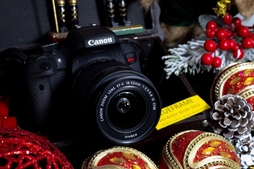 Câmera Canon T6i Usada + Lente 18-55mm (impecável Com Nf)