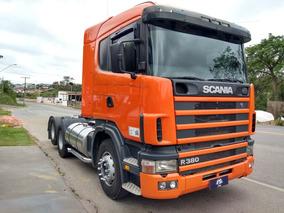 Scania 114 380 6x2 Motor Novo Fs Caminhoes