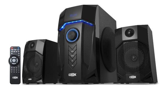 Caixa Som Subwoofer 2.1ch 40wrms C/usb Bluetooth Radio Bivol