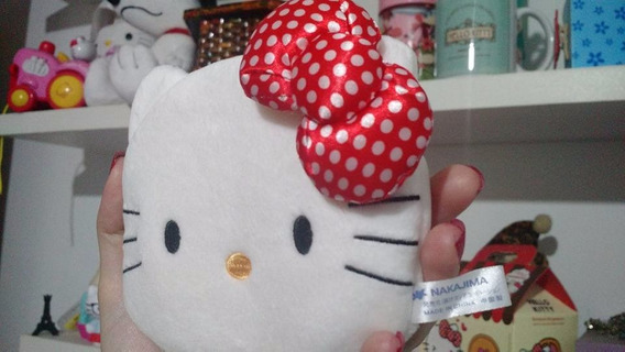 Bolsinha Hello Kitty Sanrio, Porta Chaves, Moedas, Dinheiro