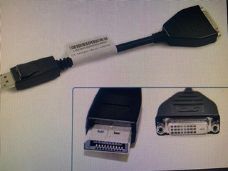Lenovo Cable Adaptador De Monitor Displayport A Dvi-d