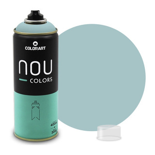 3 Tinta Spray Colorart Nou Colors P/ Grafiteiros - Verde Luz