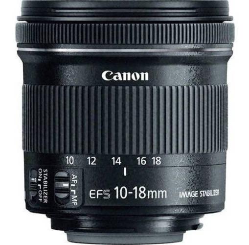 Lente Canon Ef-s10-18mm F/4.5-5.6 Is Stm