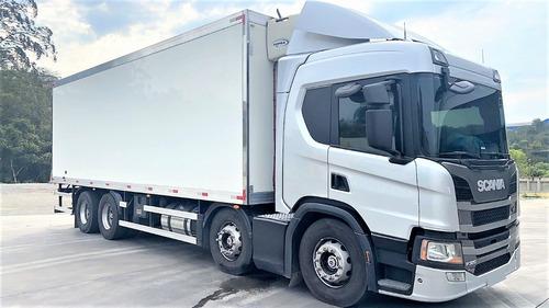 Imagem 1 de 15 de Scania P 320 8x2 Bitruck 2020 No Chassi